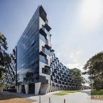 Monash University Logan Hall (VIC) by McBride Charles Ryan. Photo: John Gollings