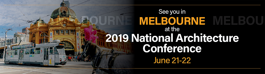 Melbourne 2018 National Architecture Conference