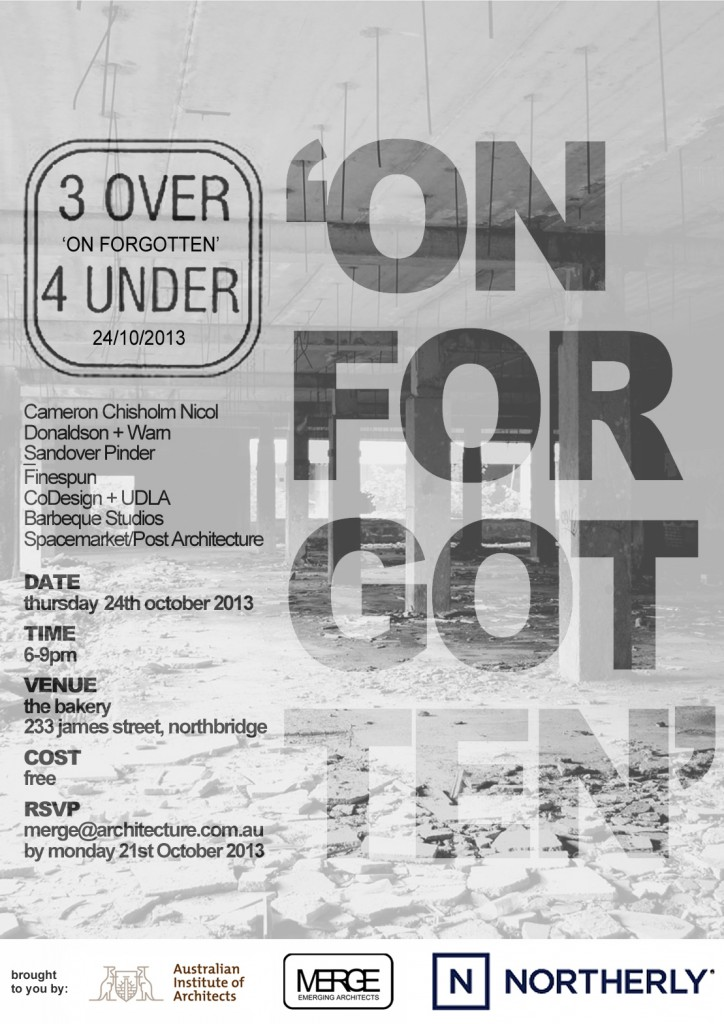3O4U_2013_On Forgotten_Poster_FINAL