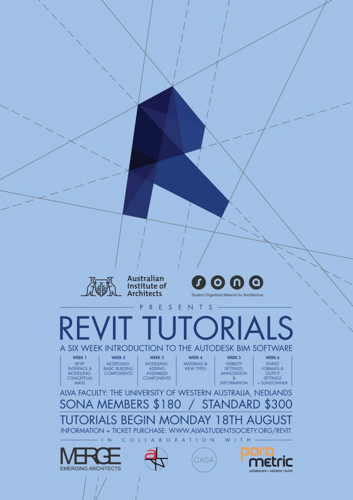 WA Revit Tutorials Poster