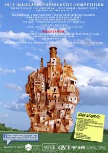 2013 Inaugural Paper castles