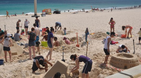 Sandcastles Competition WA