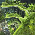 Award for Commercial Architecture - Parkroyal on Pickering, Singapore by WOHA