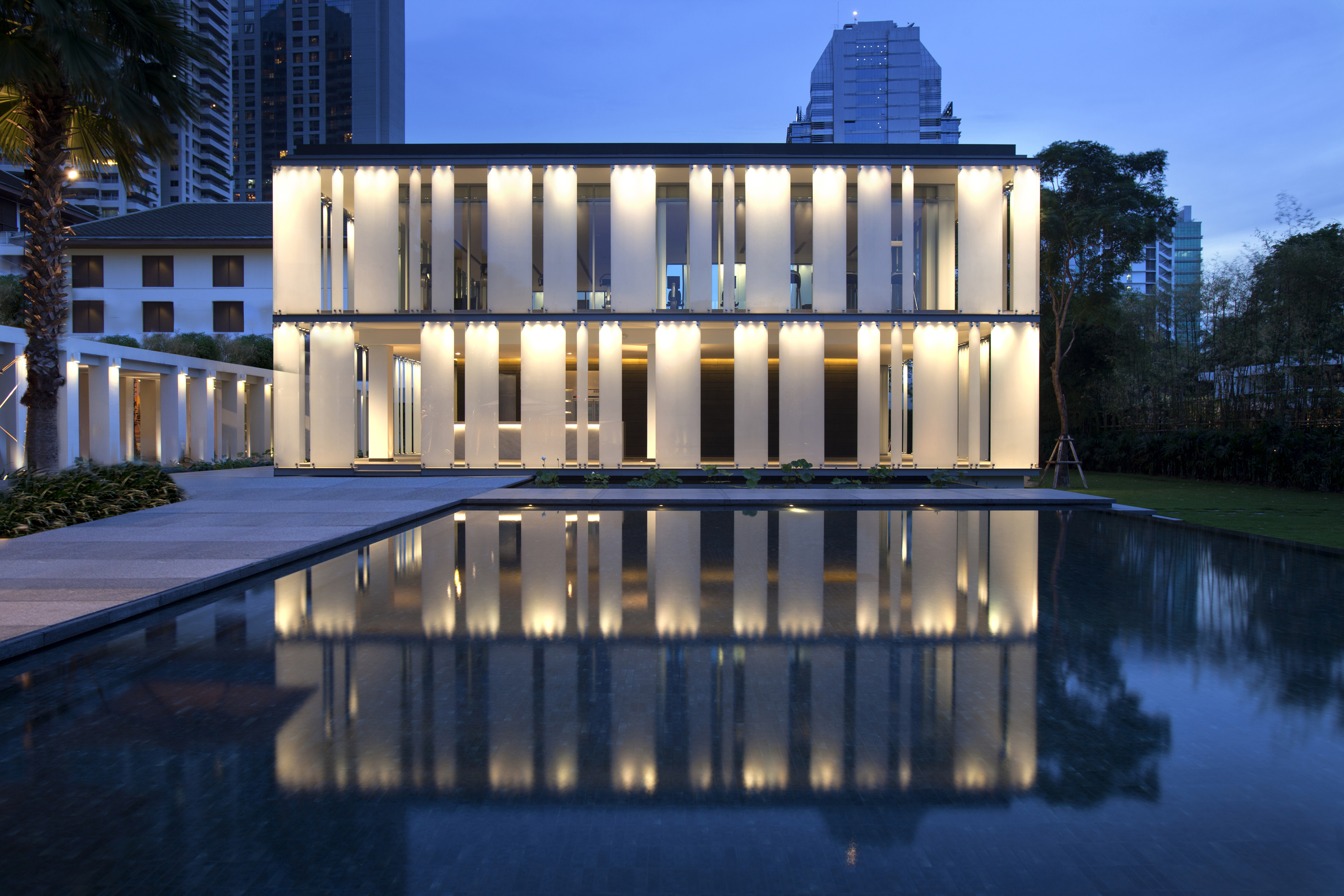 Award for residential architecture the sukhothai for Residential architect