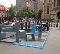 Replas Urban Lounge at Fed Square during MA|A 2012