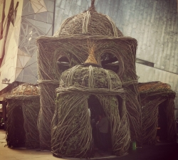 Patrick Dougherty's Stickwork Installation at Fed Square during MA|A 2012