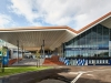 National Commendation for Public Architecture – Margaret Court Arena by NH Architecture + Populous (Vic). Photo: Peter Bennetts