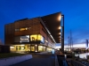National Award for Sustainable Architecture – Library at The Dock by Clare Design + Hayball (Architect of Record) (Vic). Photo: Dianna Snape