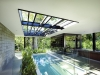 Sustainable Architecture (QLD) - (-) Glass House by Charles Wright Architects. Image by Patrick Bingham Hall.