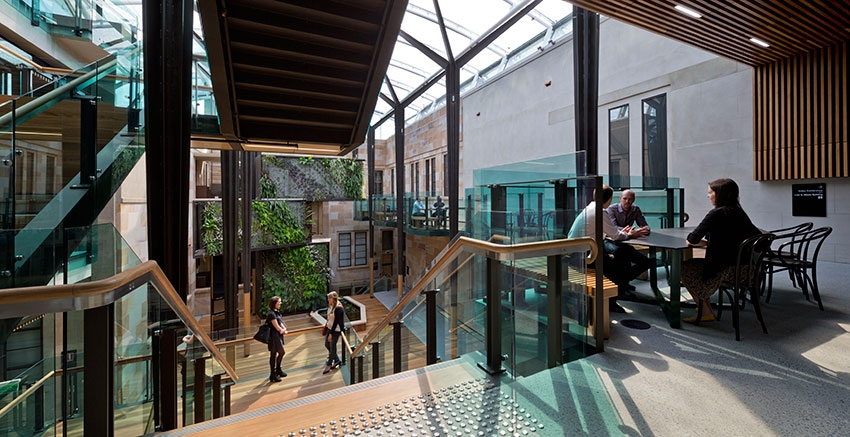 The G H M Addison Award For Interior Architecture University Of Queensland Global Change Institute By
