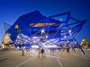 Colorbond® Award for Steel Architecture - Perth Arena by ARM Architecture & Cameron Chisholm   Nicol - Joint Venture Architects. Image by Greg Hocking.