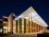 Commendation for Public Architecture - All Saints' College Performing Arts Theatre by Parry &   Rosenthal Architects. Image by Robert Frith.