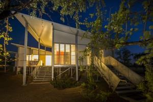 Djakanimba Pavilions by Insideout Architects. Image by Peter Eve, Monsoon Studio.