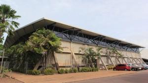Vestey's Darwin High School Gymnasium by Woodhead Australia Architects. Image by Tammy Neumann.