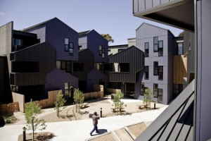McIntyre Drive Social Housing, Altona by MGS Architects. Image by Trevor Mein