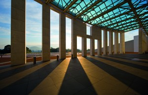 Parliament House by Mitchell Giurgola and Thorp. Image: John Gollings