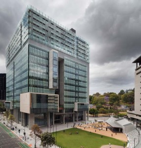 Queen Elizabeth II Courts of Law by Architectus in association with Guymer Bailey Architects. Image: John Gollings