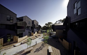 McIntyre Drive Social Housing by MGS Architects. Image: Trevor Mein
