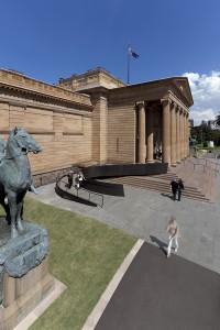 Art Gallery of NSW Forecourt by Johnson Pilton Walker. Image: Brett Boardman