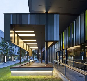 Flinders Street Revitalisation by Cox Rayner Architects. Image: Angus Martin