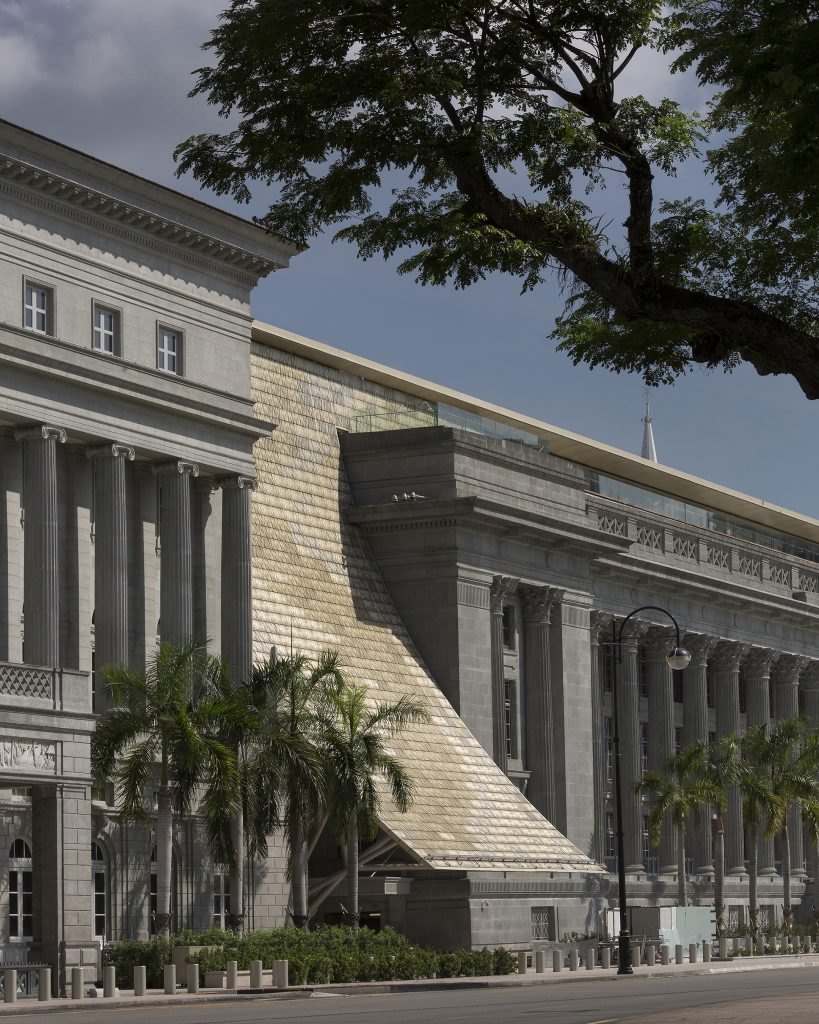 National Gallery Singapore by studioMilou, photo by Fernando Javier Urquijo