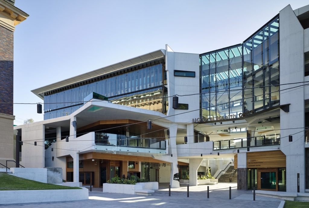 F D G Stanley Award - University of Queensland Oral Health Centre by Cox Rayner Architects with Hames Sharley and Conrad Gargett Riddel