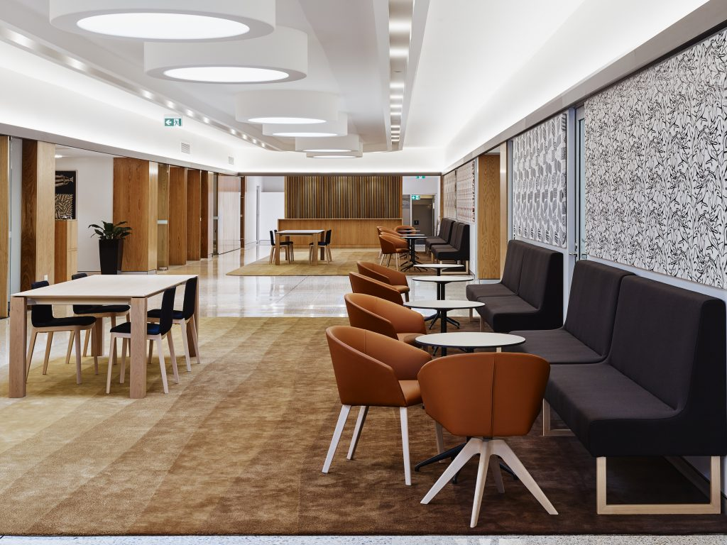 Interior Architecture George Chaloupka Award – Paspalis Business Centre, Darwin by Georgina Wilson Architect. Photo by Noel McLaughlin.