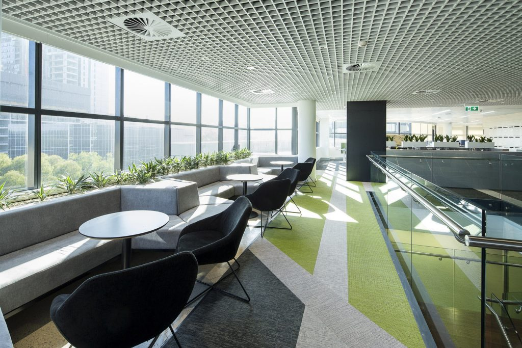 RMS Parramatta workplace by Intrec