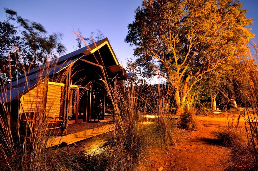 The Tracy Memorial Award – Anbinik Kakadu Resort by Troppo Architects. Photo by David Haigh.