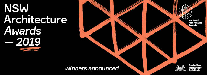 NSW Architecture Awards Night - 5 July - BOOK NOW