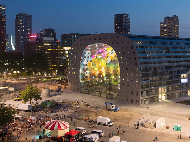 Market Hall - Photo Credit MVRDVs