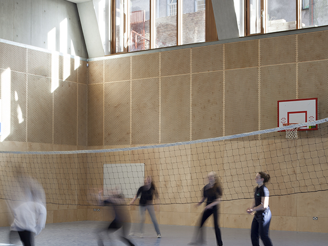 St Angela's College - Sports Hall - Photo Credit: Alice Clancy