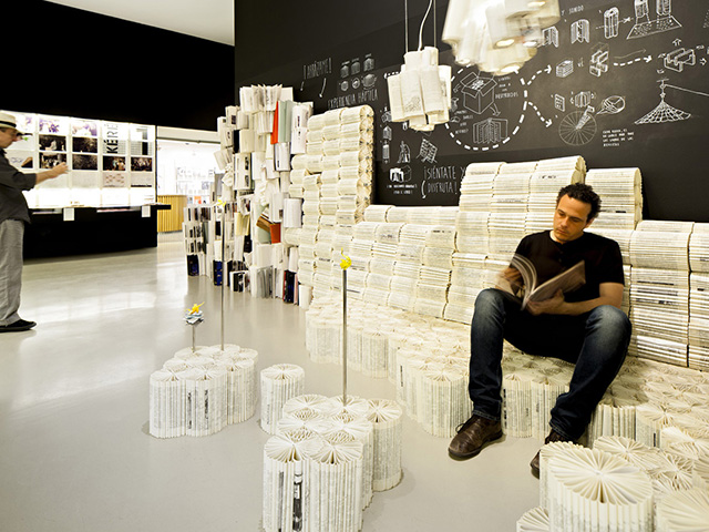 Unbound library of lost books - Photo Credit: Javier Callejas