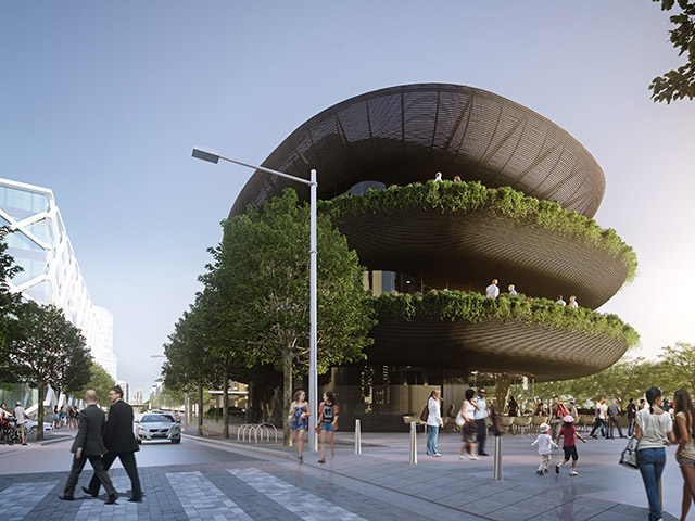 Barangaroo R1 - artists impression