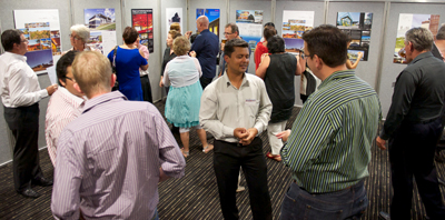 Guests enjoy the 2013 Central Queensland Regional Architecture Awards