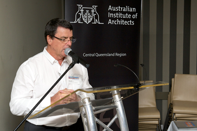 Central Queensland Regional Chair Russell Girle FRAIA
