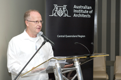 Qld Architecture Awards Jury Director Mark Damant RAIA