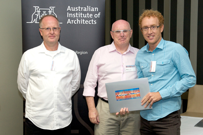 A Regional Commendation is presented to Reddog Architects Pty Ltd for Health Clinic CQU