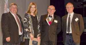 A State Commendation for Interior Architecture is presented to HASSALL for Gadens Lawyers