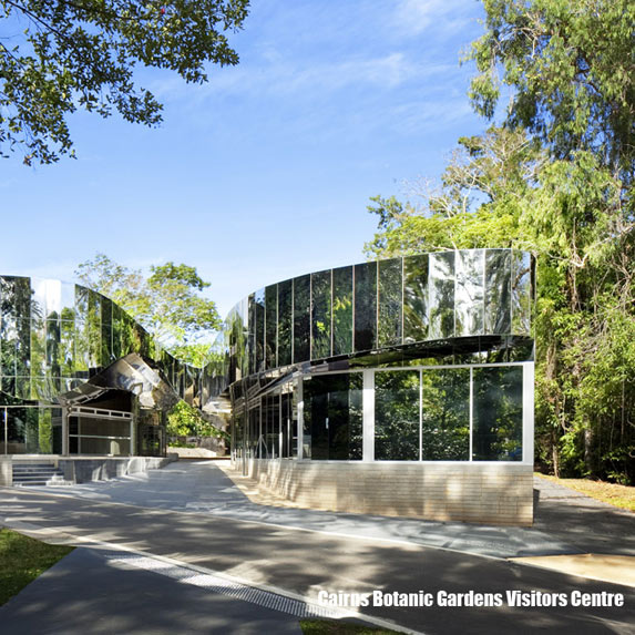 Cairns Botanic Gardens Visitor Centre, Charles Wright Architects