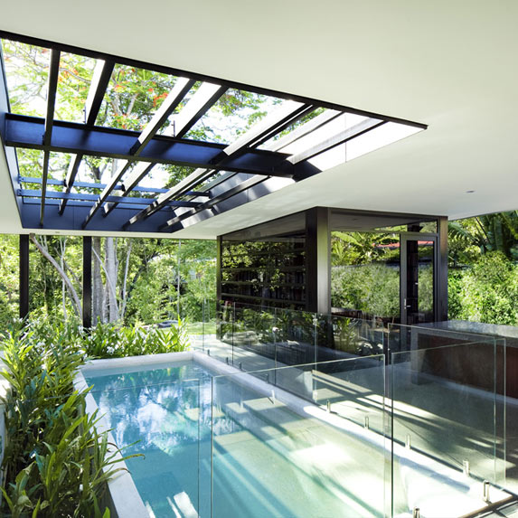 Glass House, Charles Wright Architects