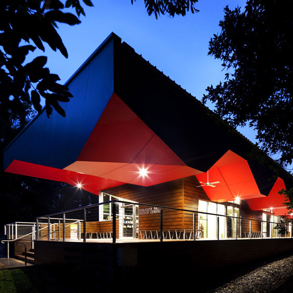 Malanda Falls Visitor Information Centre, Charles Wright Architects