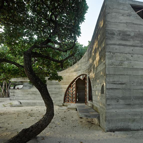 La Plage du Pacifique, Vanuatu, Kristin Green Architecture