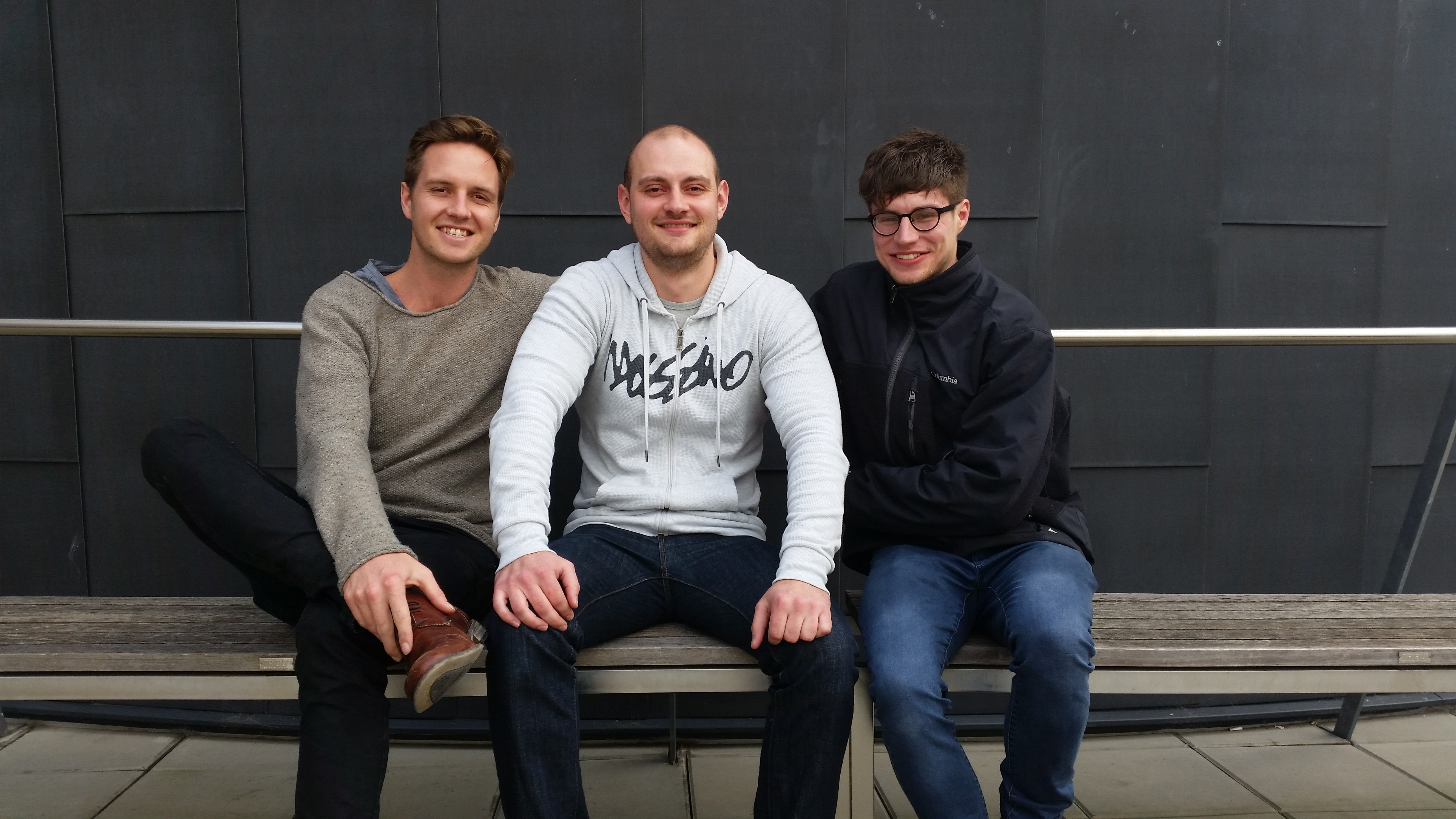 Cameron, Tony and Josh