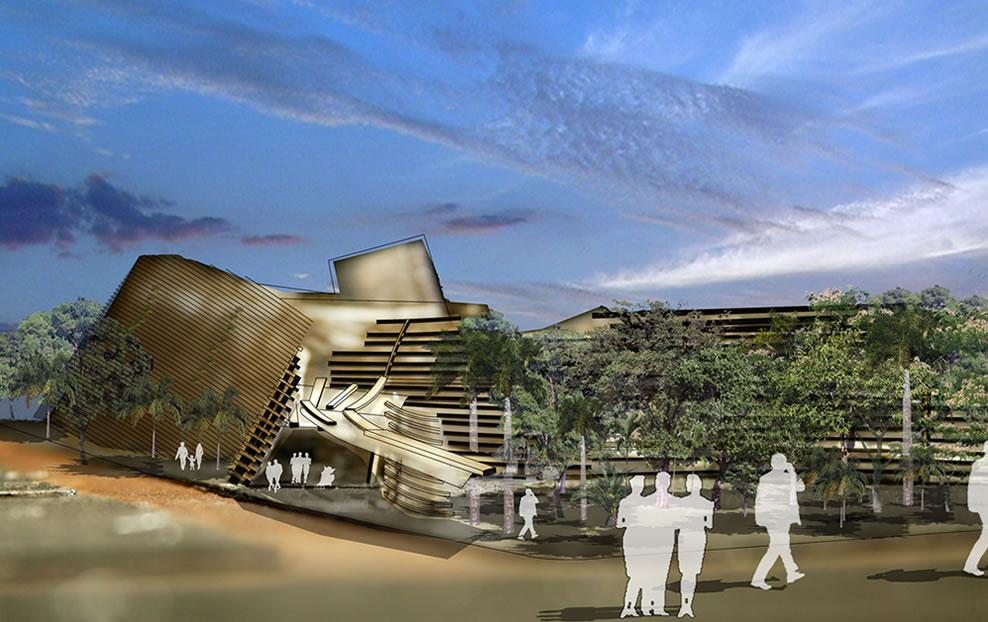 2008 Finalist: Birth, Survival, Destruction and Rebirth - Darwin Civic Centre by Mathew George