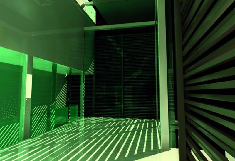 2006 Finalist: Diagonal Courtyard House by Jonathan Chua