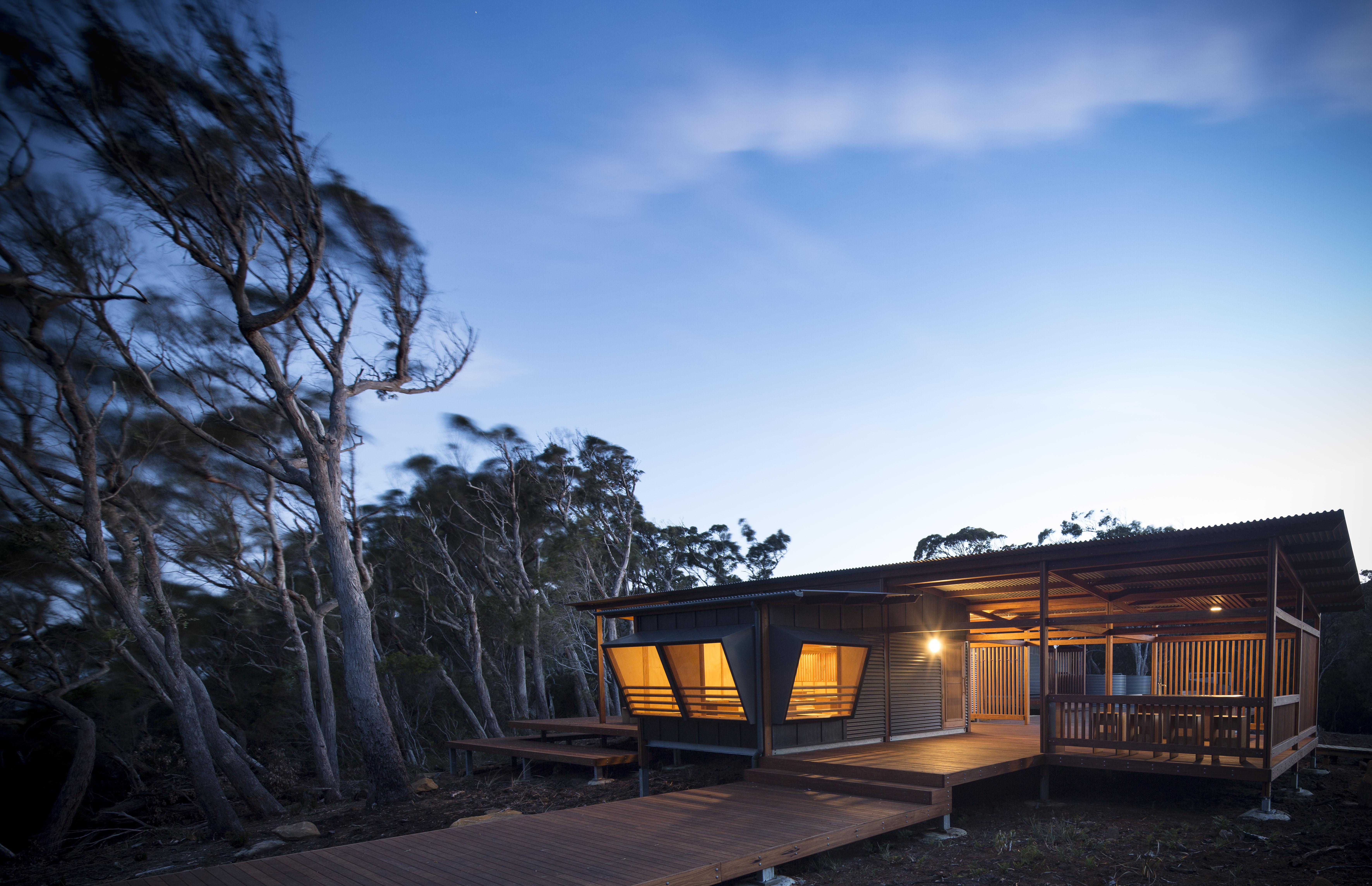 Three Capes Track Cabins 2017 Tasmanian Architecture Awards