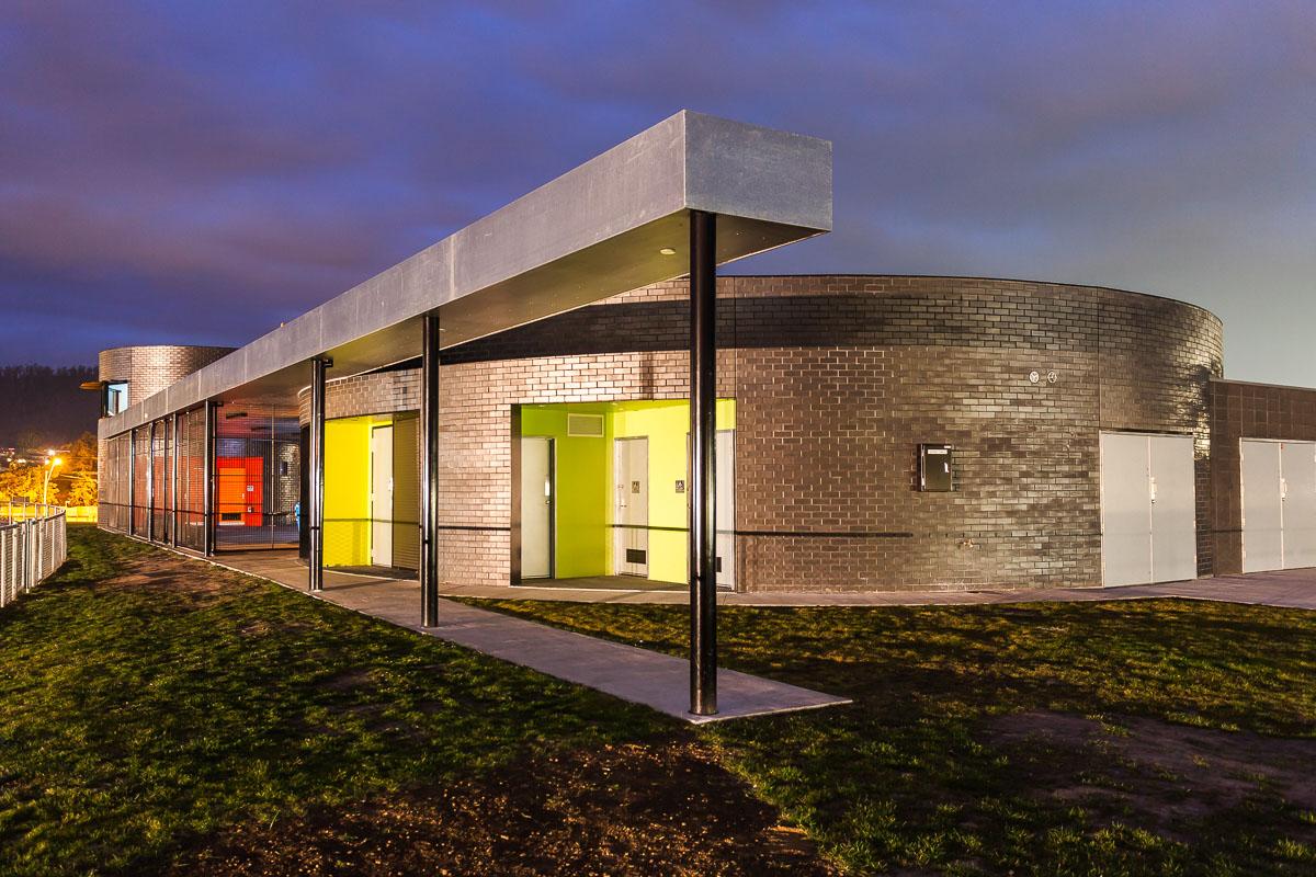 Clarence High School Sports Pavilion 2018 Tasmanian