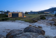 Small Project Architecture - Bicheno Surf Life Saving Club + Boathouse