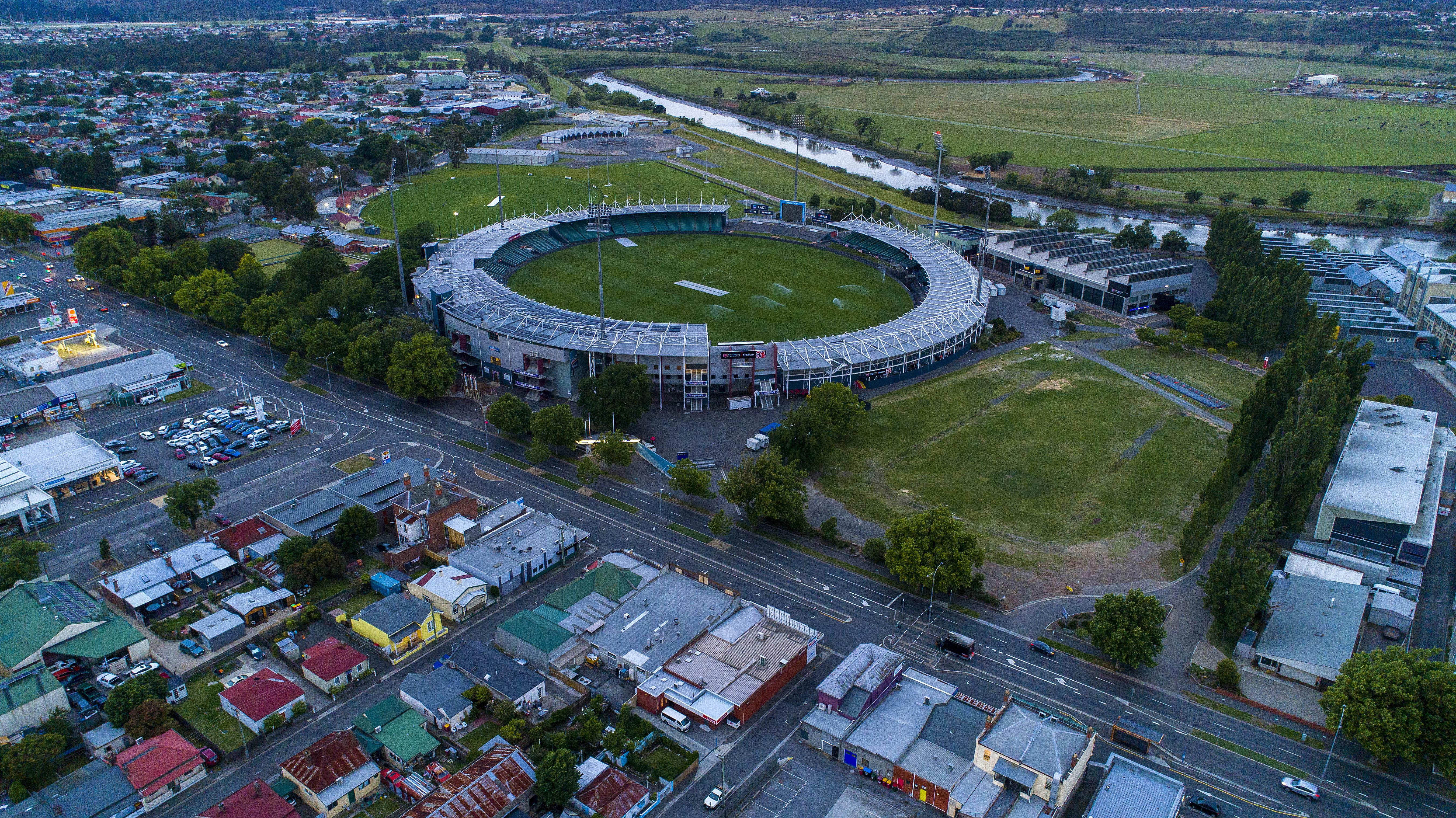 University of Tasmania Stadium Gates